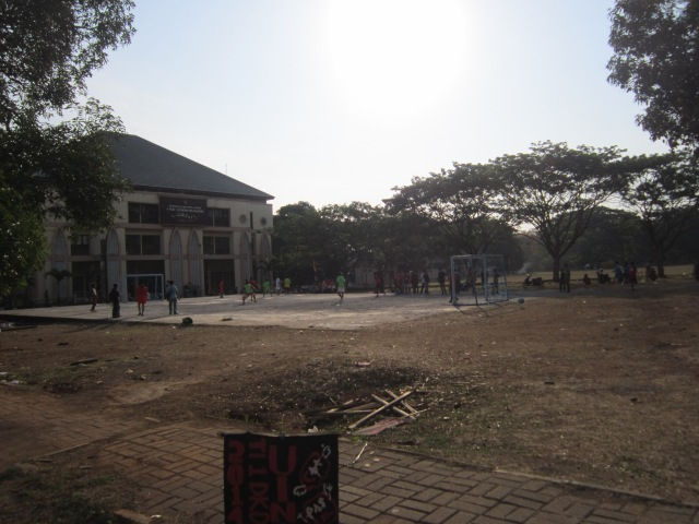 Gedung Sekretariat Unit Kegiatan Mahasiswa UIN.